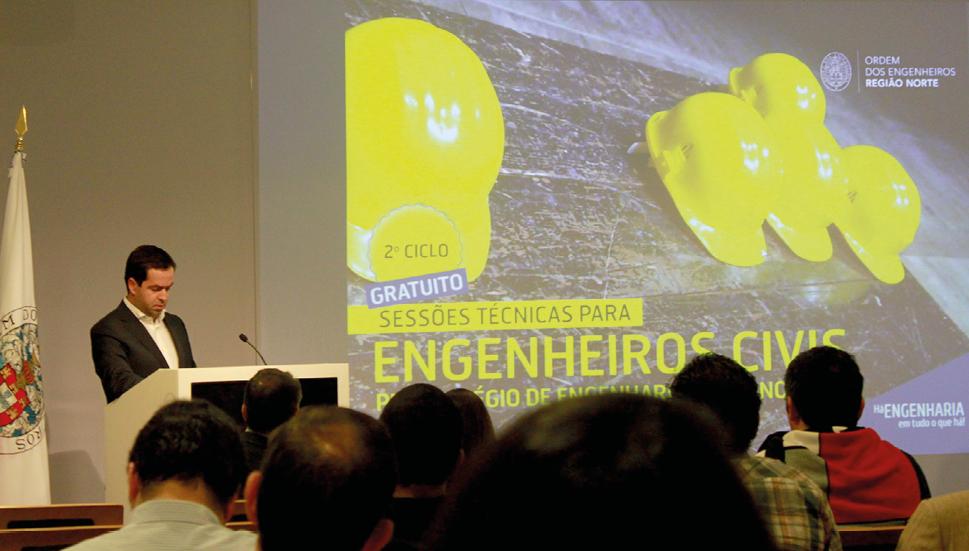 Plataforma Notícias Ordem Engenheiros Região Norte - Arrancou o 2ª Ciclo de Sessões técnicas para Engenheiros Civis na OERN