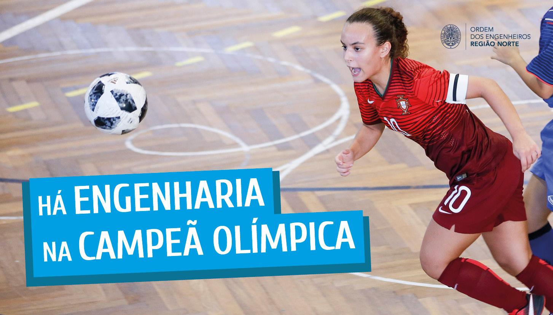 Plataforma Notícias Ordem Engenheiros Região Norte - Telma Pereira estuda Engenharia e é a nossa Campeã Olímpica!