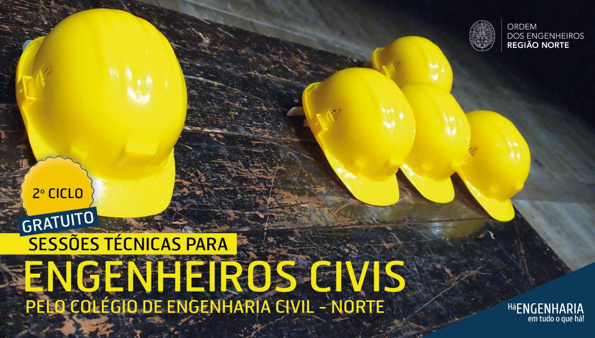 Plataforma Notícias Ordem Engenheiros Região Norte - 2º Ciclo – Sessões Técnicas para Engenheiros Civis