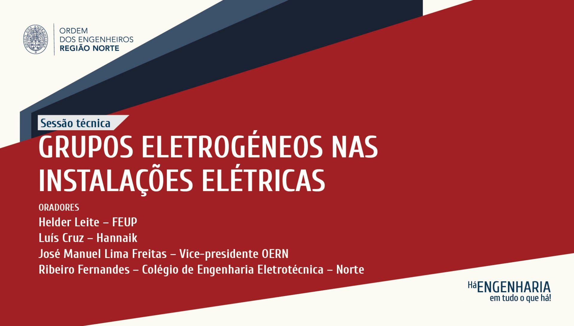 Plataforma Notícias Ordem Engenheiros Região Norte - Grupos Eletrogéneos nas Instalações Elétricas