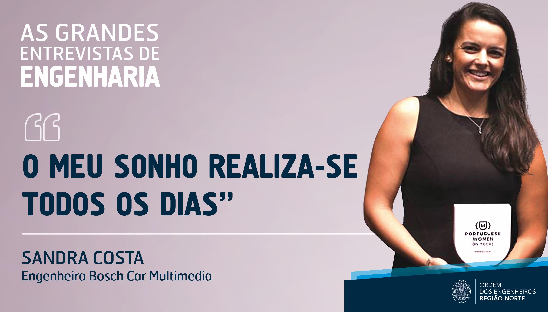 Plataforma Notícias Ordem Engenheiros Região Norte - Grandes Entrevistas de Engenharia com… Sandra Costa