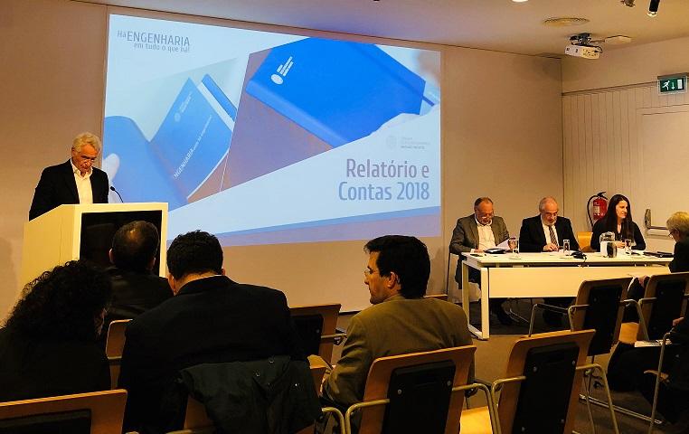 Plataforma Notícias Ordem Engenheiros Região Norte - Relatório e Contas 2018 aprovado por unanimidade