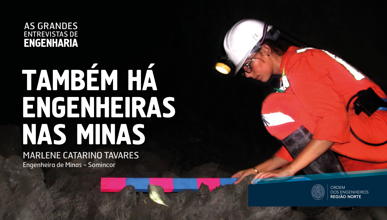 Plataforma Notícias Ordem Engenheiros Região Norte - As Grandes Entrevistas de Engenharia com… Marlene Catarino Tavares