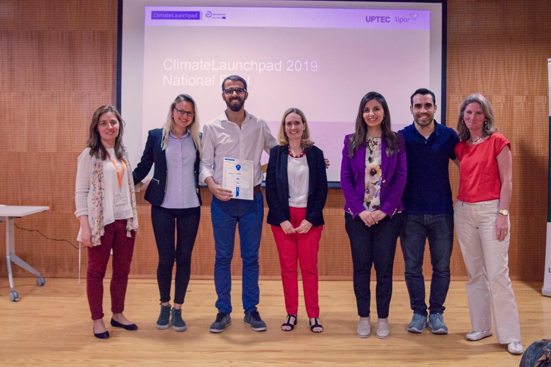 Plataforma Notícias Ordem Engenheiros Região Norte - Vencedores do ClimateLaunchpad 2019 recebem prémio da OERN