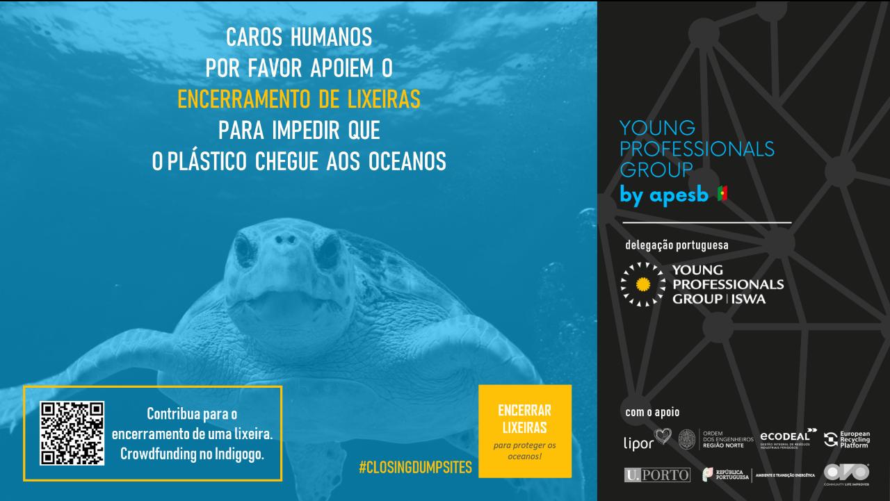 """Plataforma Notícias Ordem Engenheiros Região Norte - A OERN associa-se à campanha """"Encerrar Lixeira para proteger os Oceanos"""""""