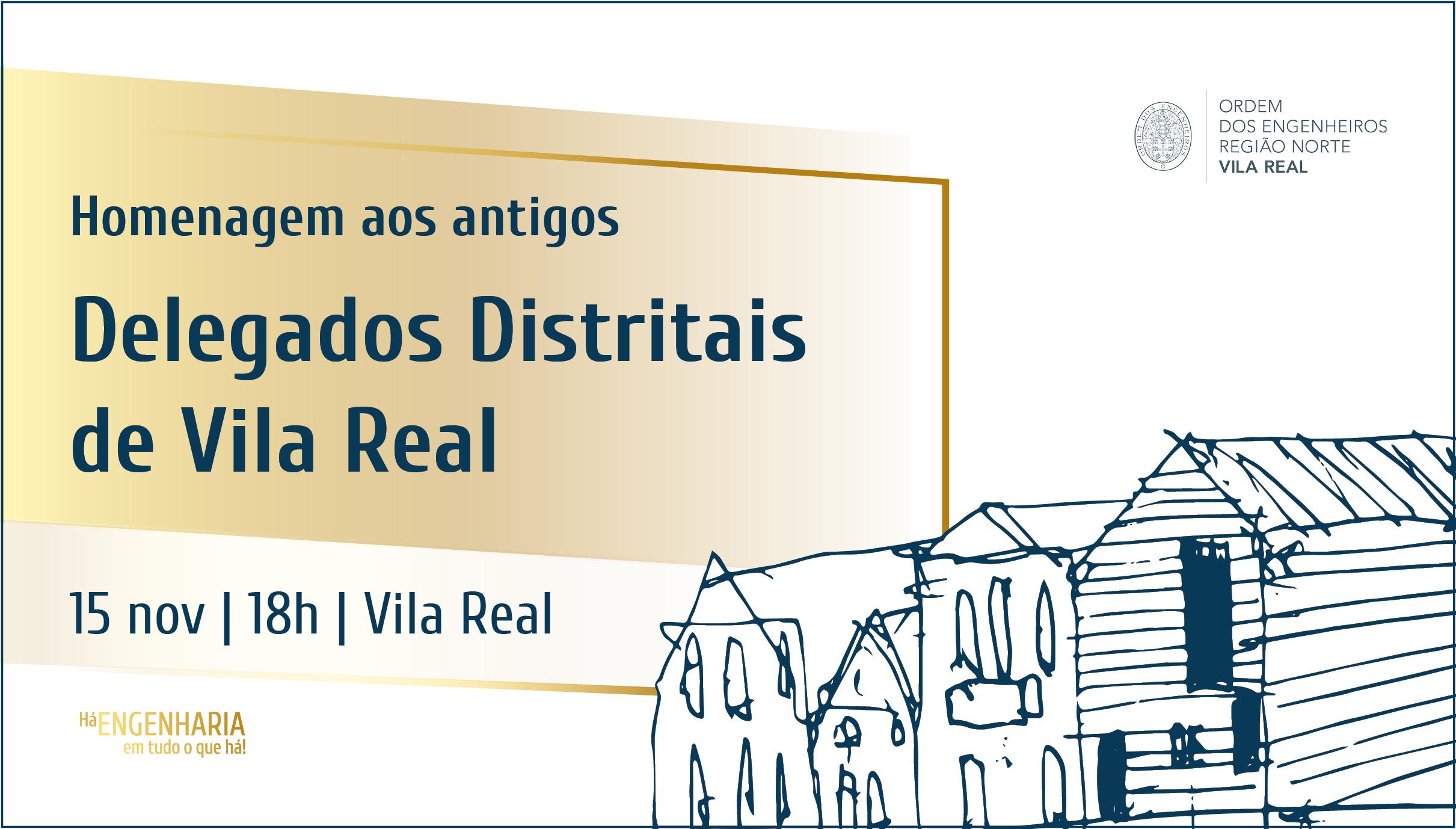 Plataforma Notícias Ordem Engenheiros Região Norte - Delegação de Vila Real homenageia antigos delegados