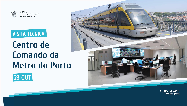 Plataforma Notícias Ordem Engenheiros Região Norte - [Visita técnica] Centro de Comando da Metro do Porto