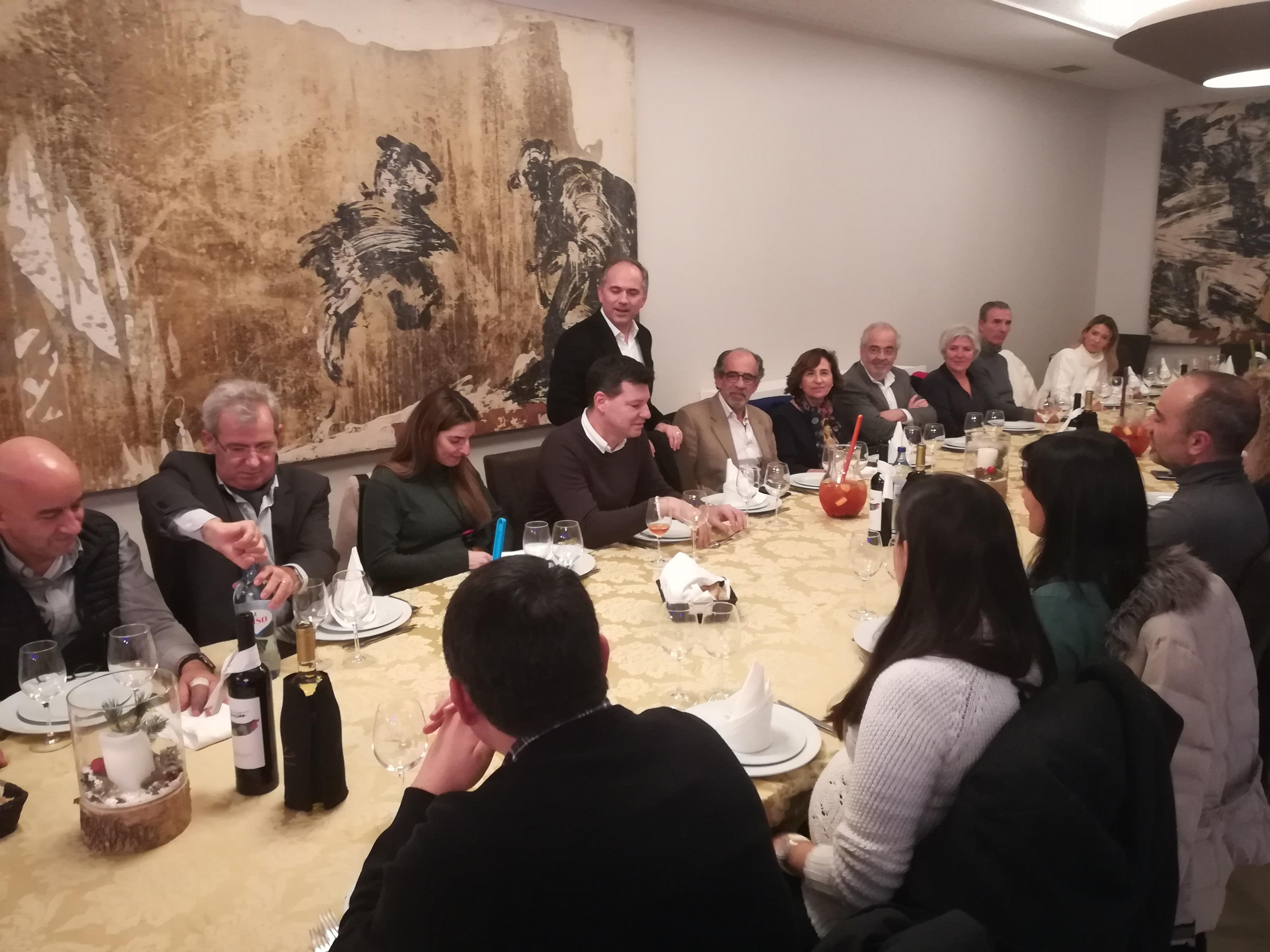 Plataforma Notícias Ordem Engenheiros Região Norte - Jantar de Natal da Delegação de Braga