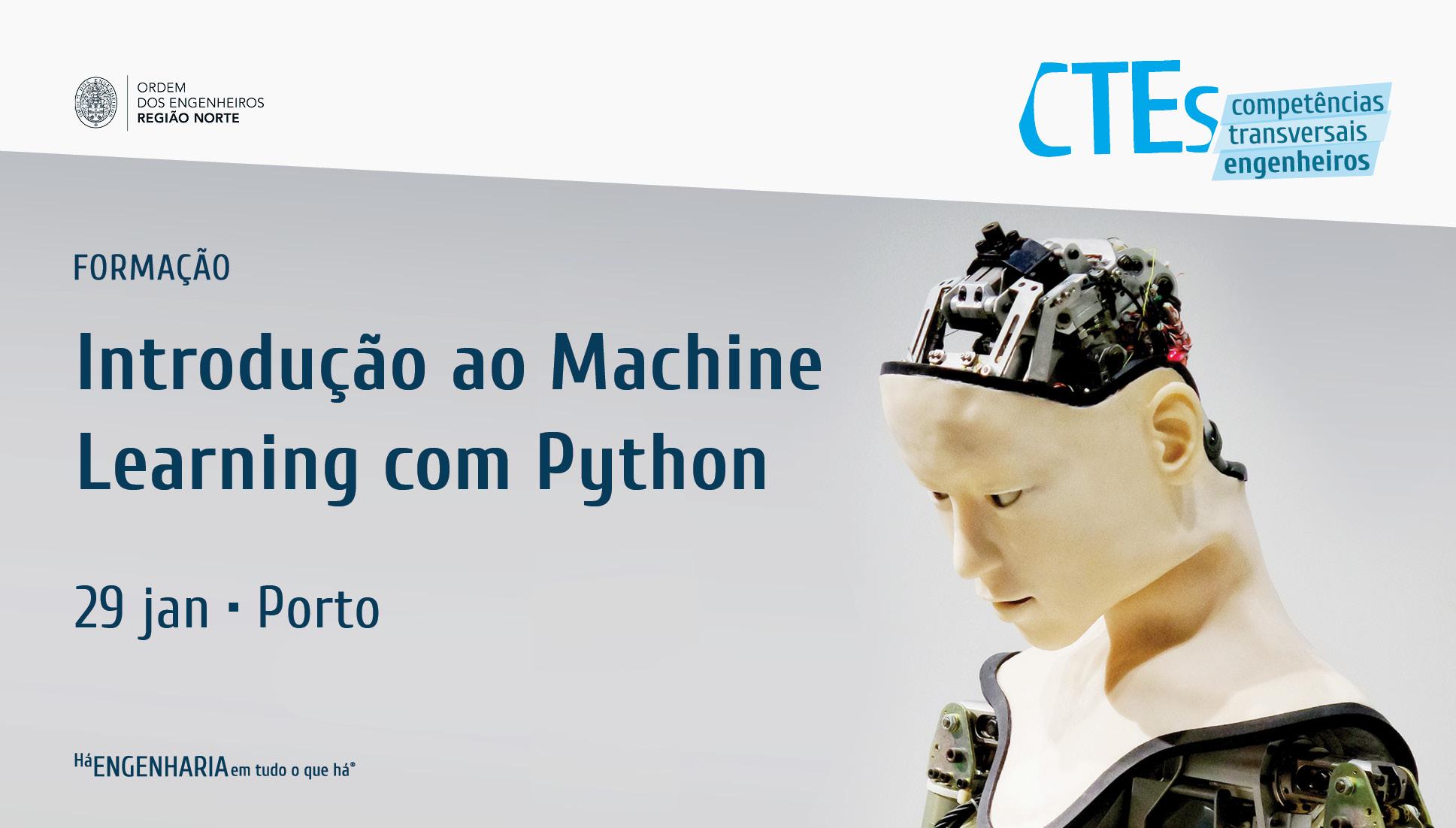 Plataforma Notícias Ordem Engenheiros Região Norte - [CTEs] Introdução ao Machine Learning com Python