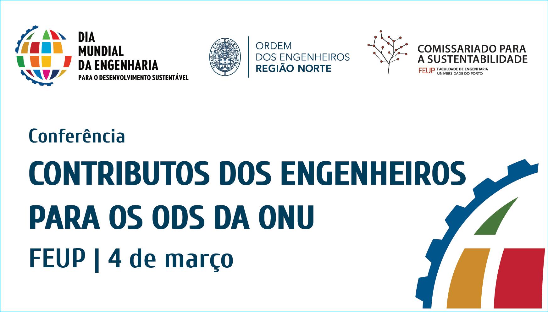 Plataforma Notícias Ordem Engenheiros Região Norte - Conferência na FEUP no Dia Mundial da Engenharia para o Desenvolvimento Sustentável