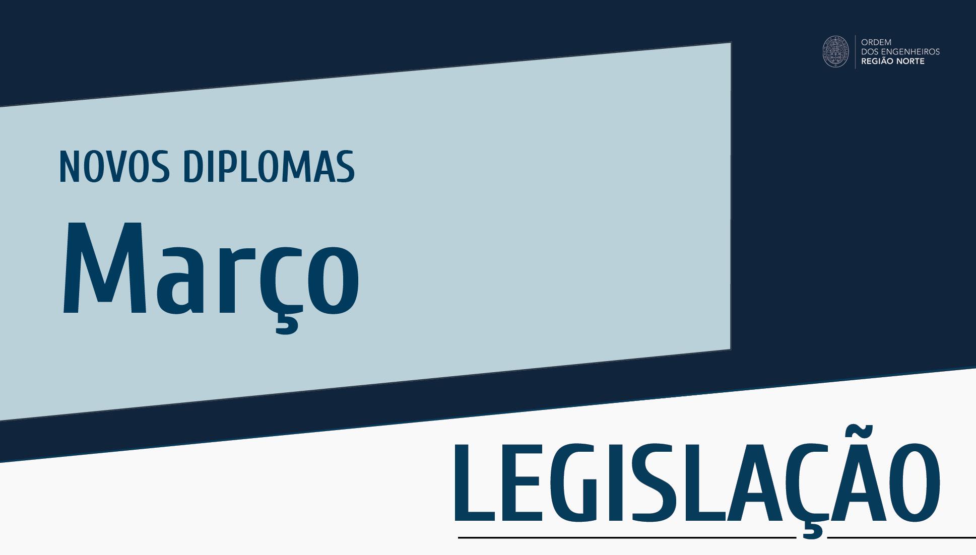 Plataforma Notícias Ordem Engenheiros Região Norte - Novos diplomas do mês de março