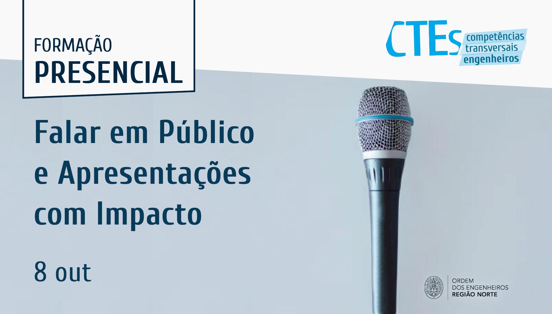 Plataforma Notícias Ordem Engenheiros Região Norte - [CTEs] Falar em Público e Apresentações com Impacto