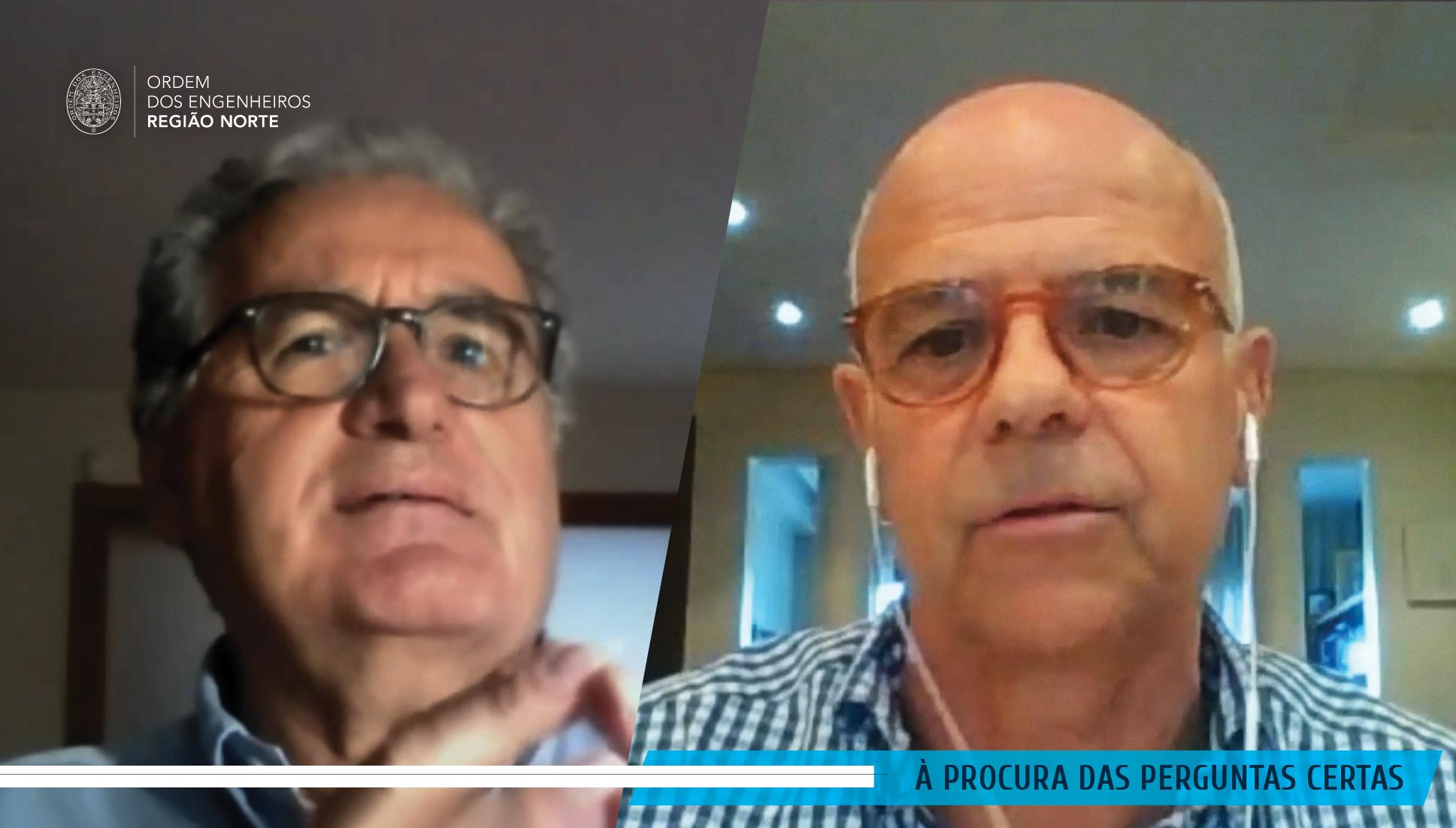 """Plataforma Notícias Ordem Engenheiros Região Norte - José Soares: """"Muita gente vai sair do confinamento com stress pós-traumático"""""""