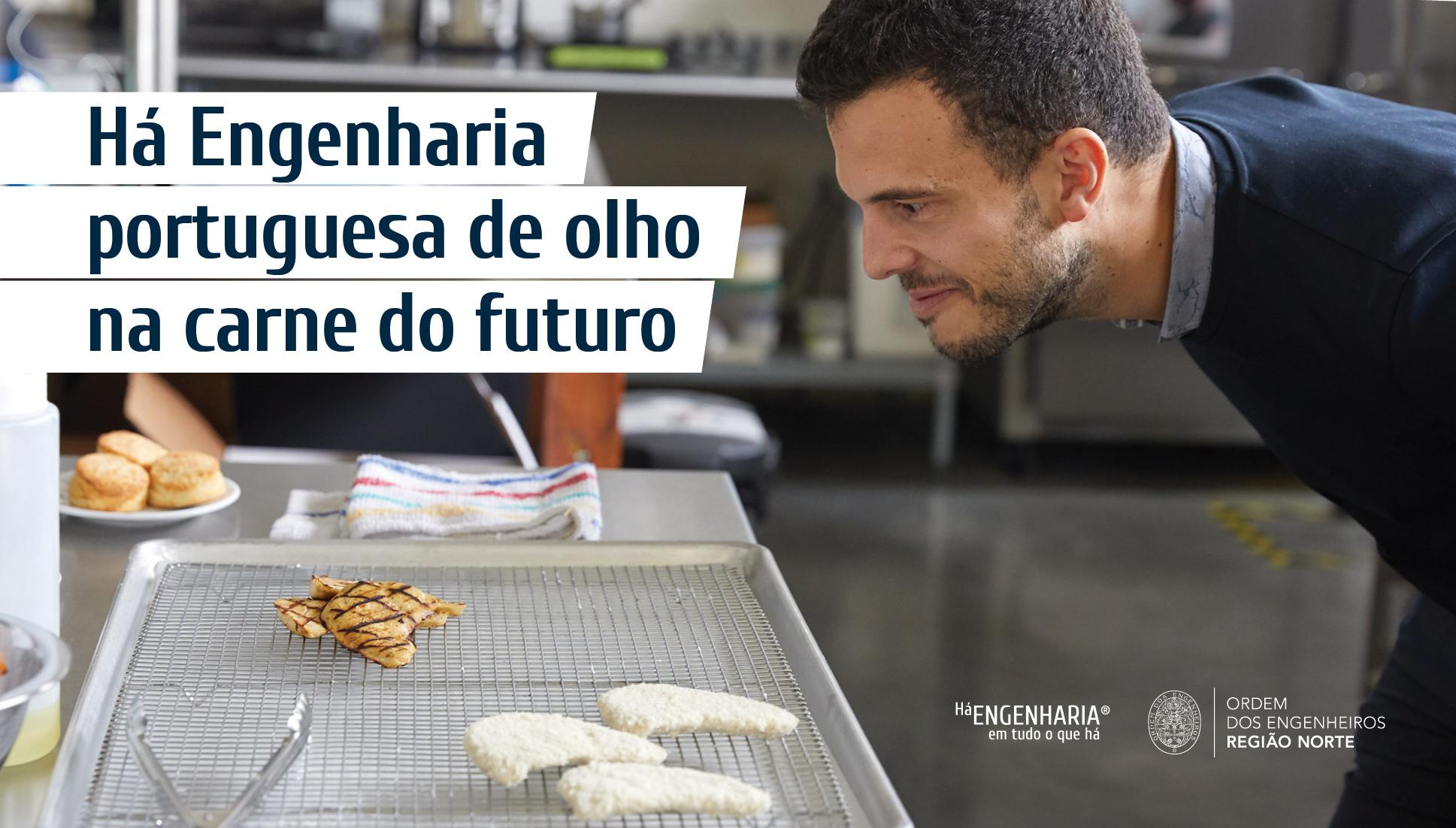 Plataforma Notícias Ordem Engenheiros Região Norte - Entrevista a Vítor Espírito Santo, o cientista que cria carne em laboratório