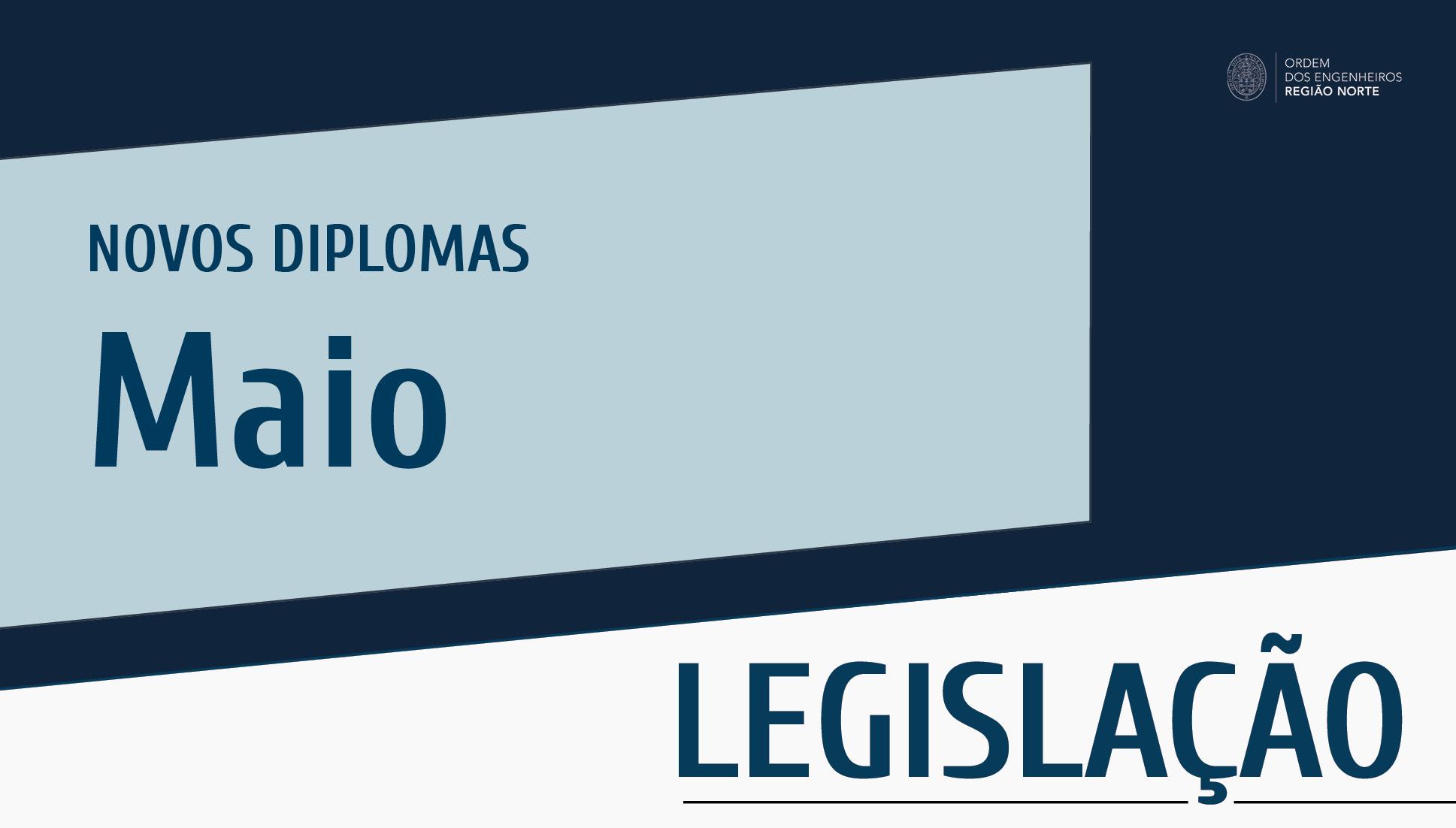 Plataforma Notícias Ordem Engenheiros Região Norte - Novos diplomas do mês de maio