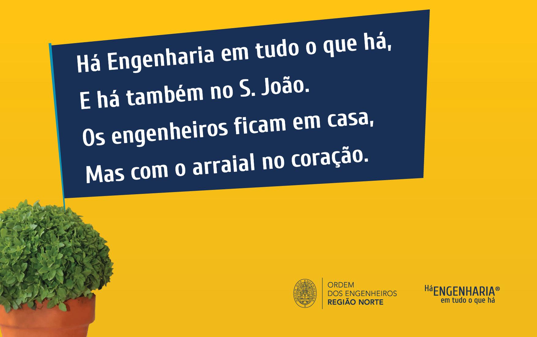 Plataforma Notícias Ordem Engenheiros Região Norte - Há Engenharia no S. João! Partilhe.