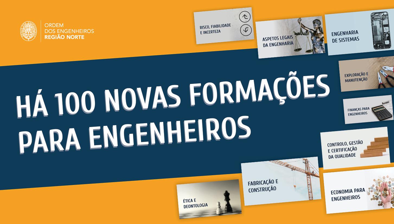 Plataforma Notícias Ordem Engenheiros Região Norte - OERN lança 100 formações para engenheiros