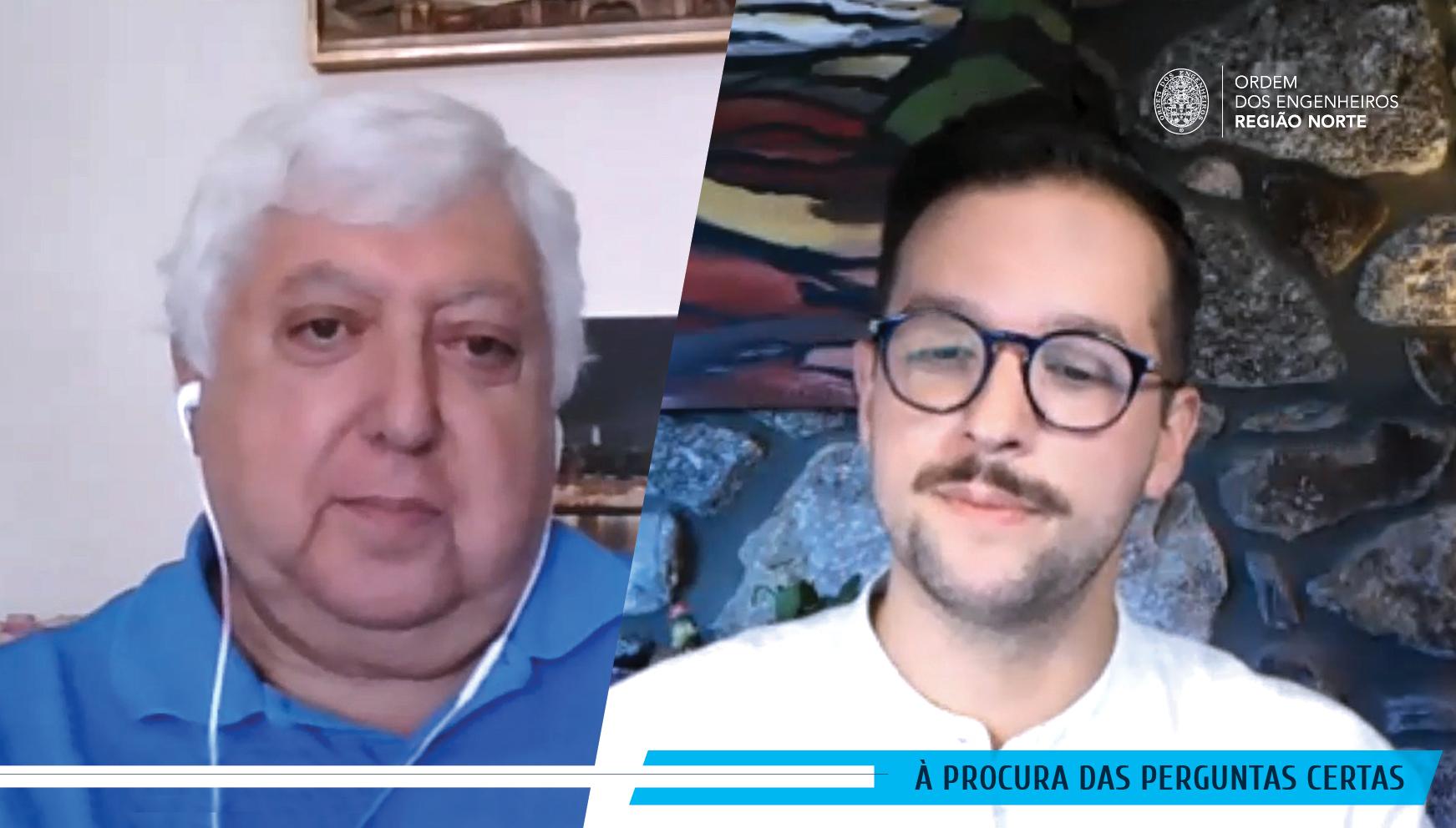 """Plataforma Notícias Ordem Engenheiros Região Norte - [Com vídeo] António Baía Reis """"Os engenheiros são bichos criativos por excelência"""""""
