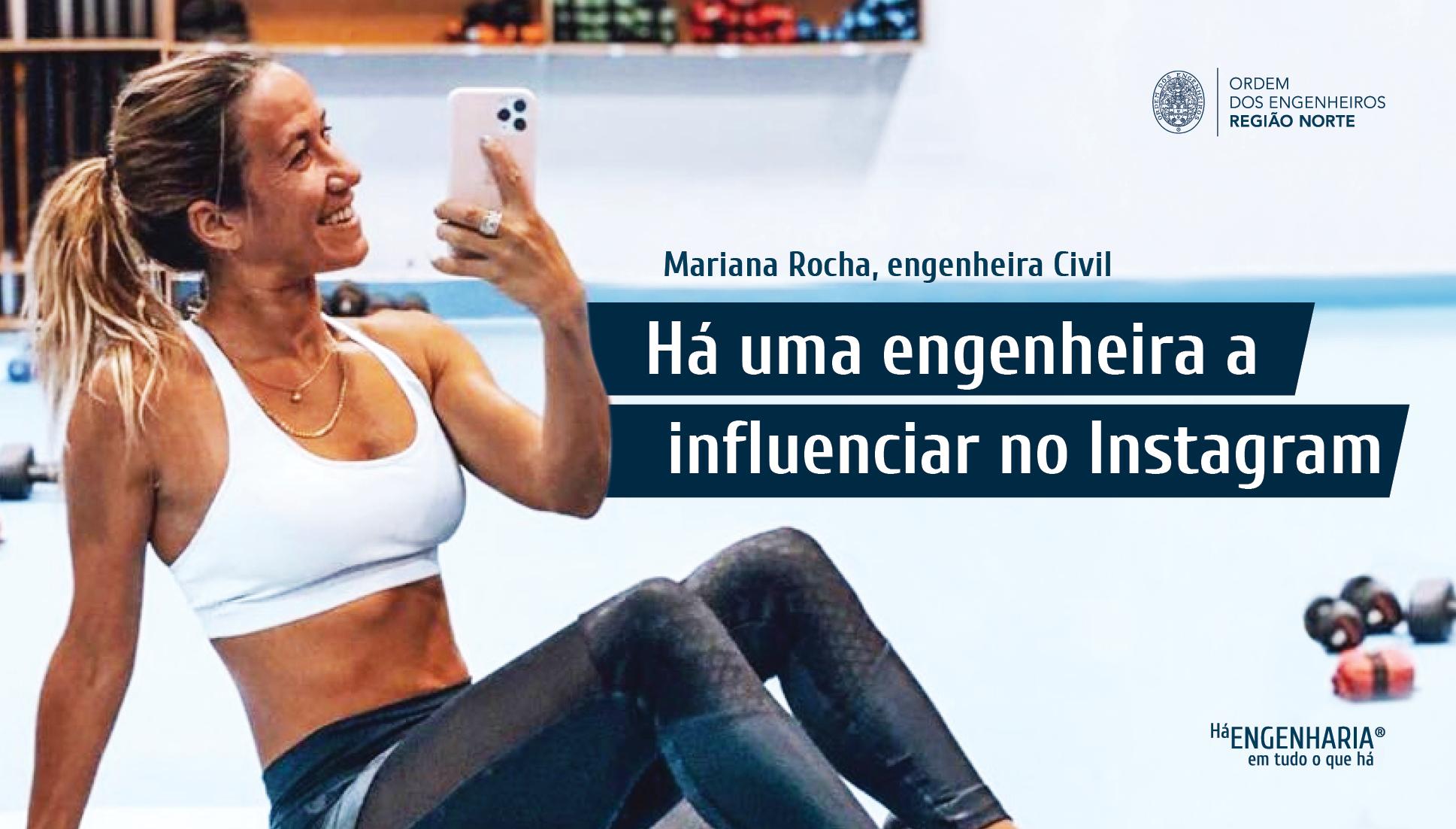 Plataforma Notícias Ordem Engenheiros Região Norte - Mariana Rocha: a engenheira com mais de 100 mil seguidores no Instagram
