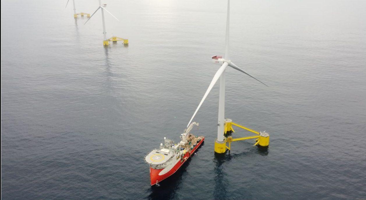 Plataforma Notícias Ordem Engenheiros Região Norte - Primeiro parque eólico flutuante semi-submersível do mundo é português