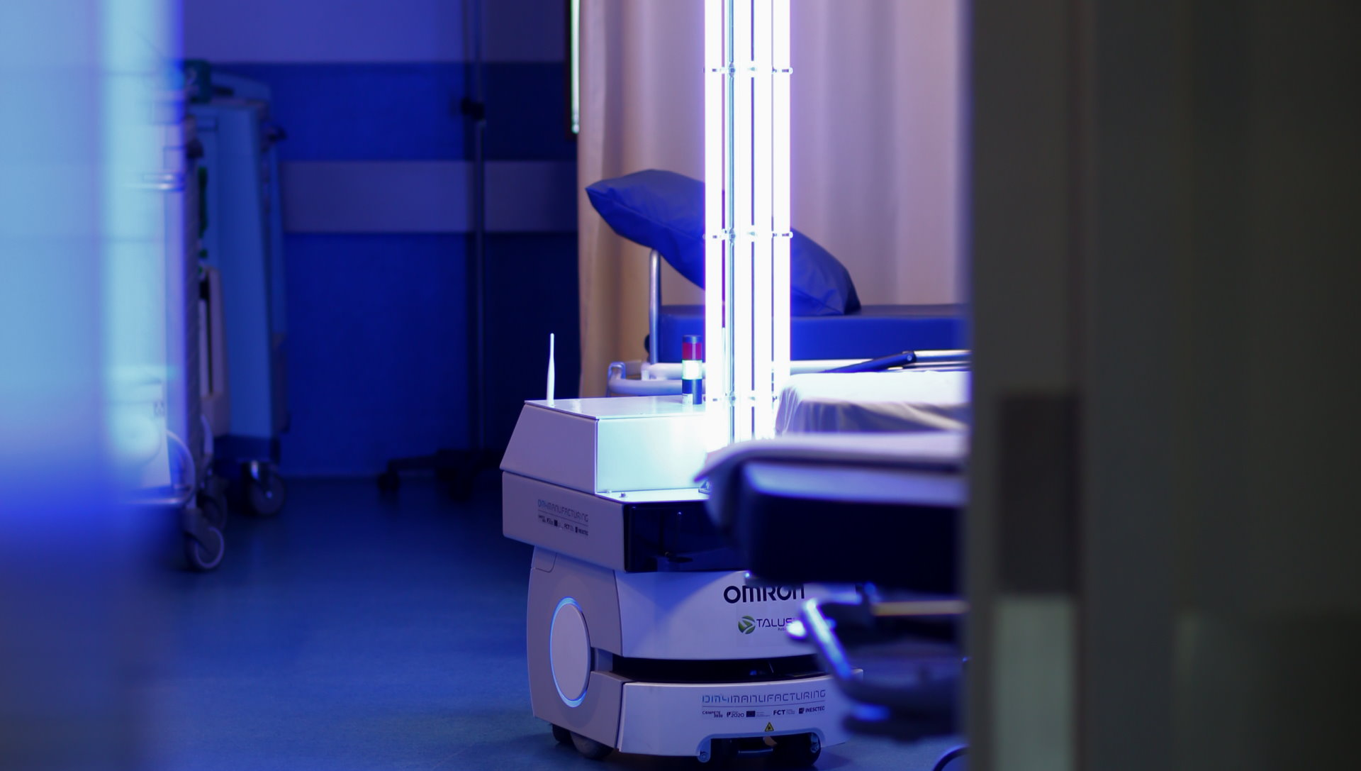 Plataforma Notícias Ordem Engenheiros Região Norte - Há Engenharia no robô de desinfeção testado em ambiente hospitalar