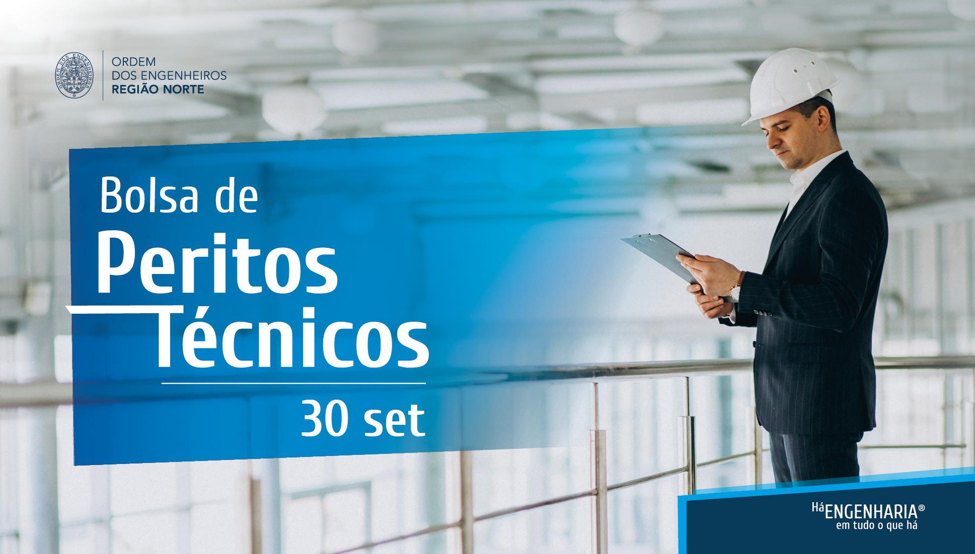 Plataforma Notícias Ordem Engenheiros Região Norte - Há Bolsa de Peritos Técnicos – Candidaturas abertas a partir de 30 de Setembro