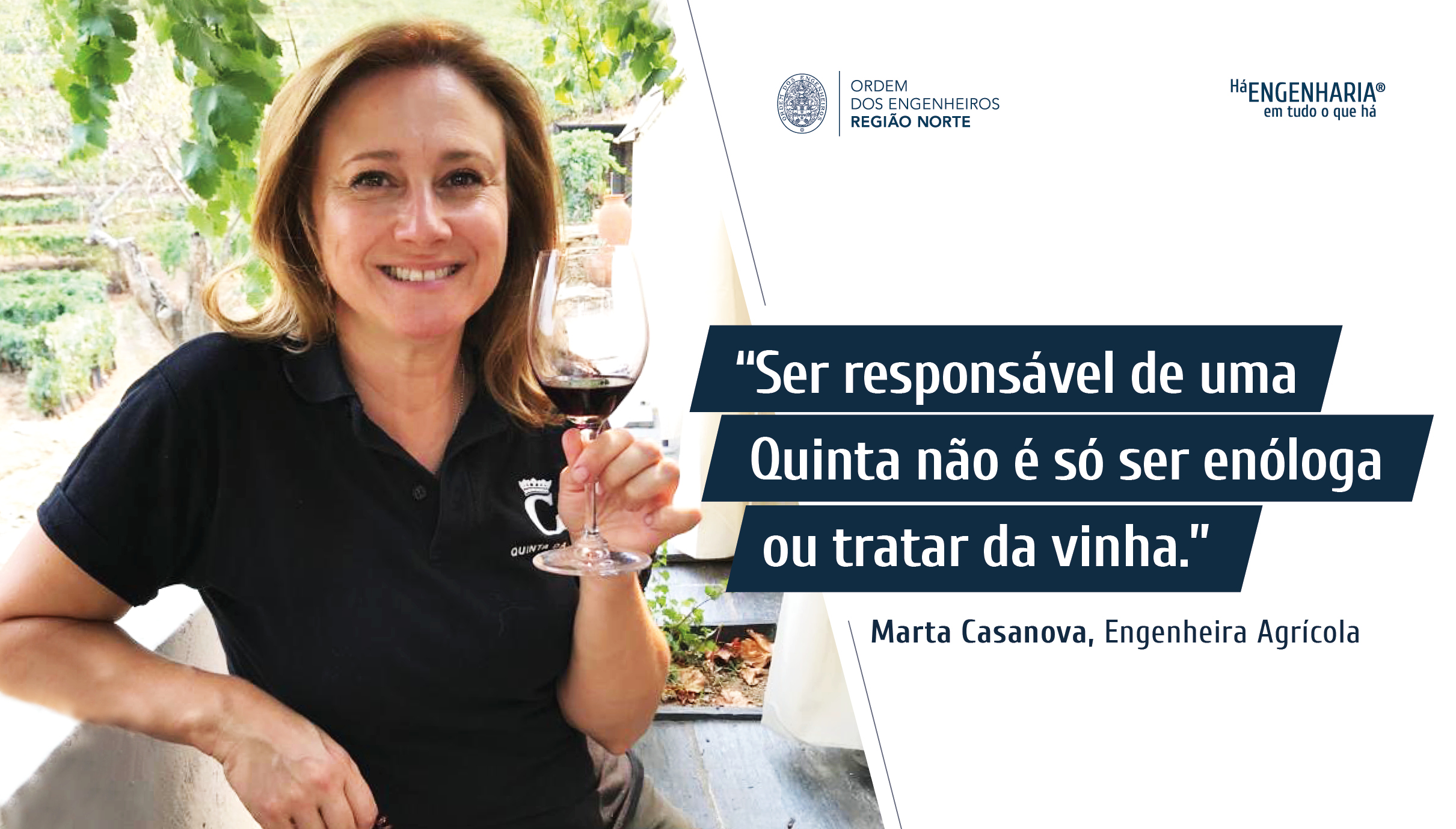 Plataforma Notícias Ordem Engenheiros Região Norte - Grandes Entrevistas de Engenharia com… Marta Casanova