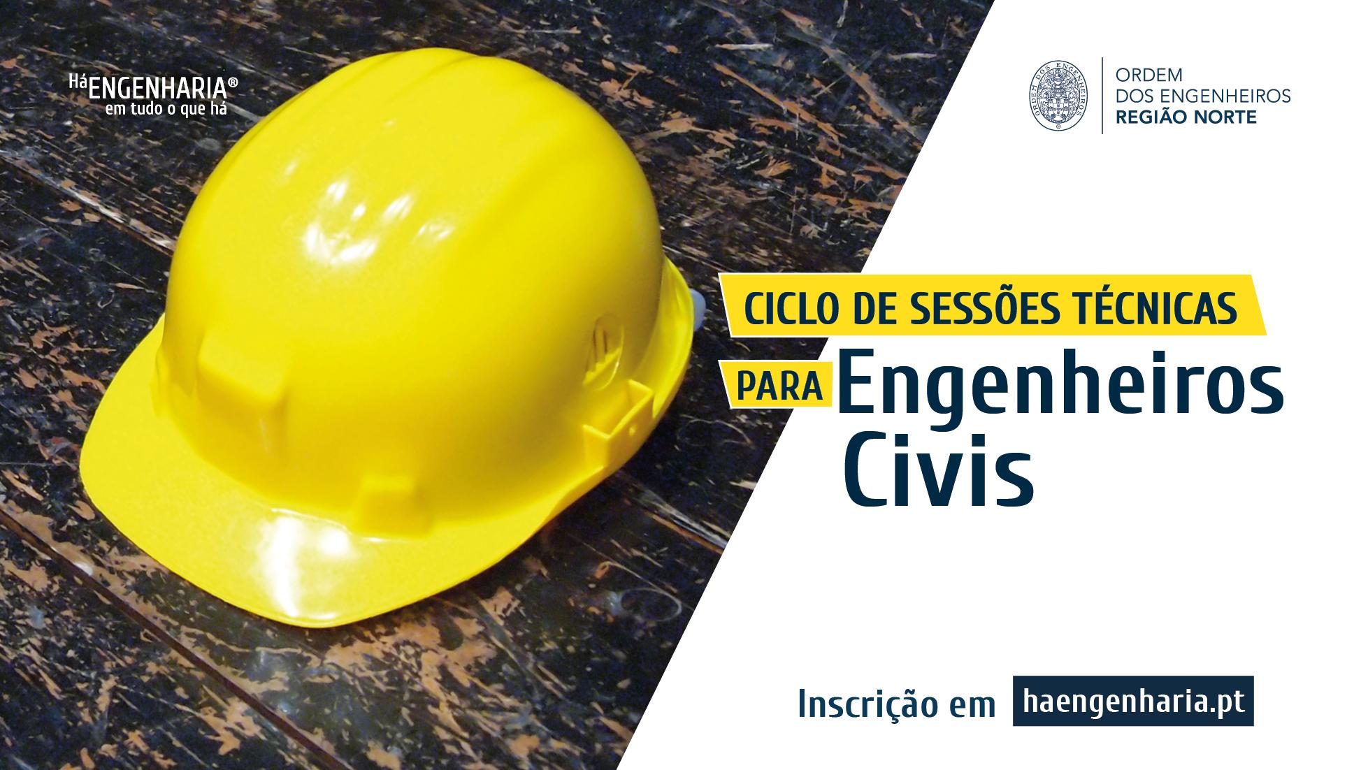 Plataforma Notícias Ordem Engenheiros Região Norte - Sessões técnicas para engenheiros civis