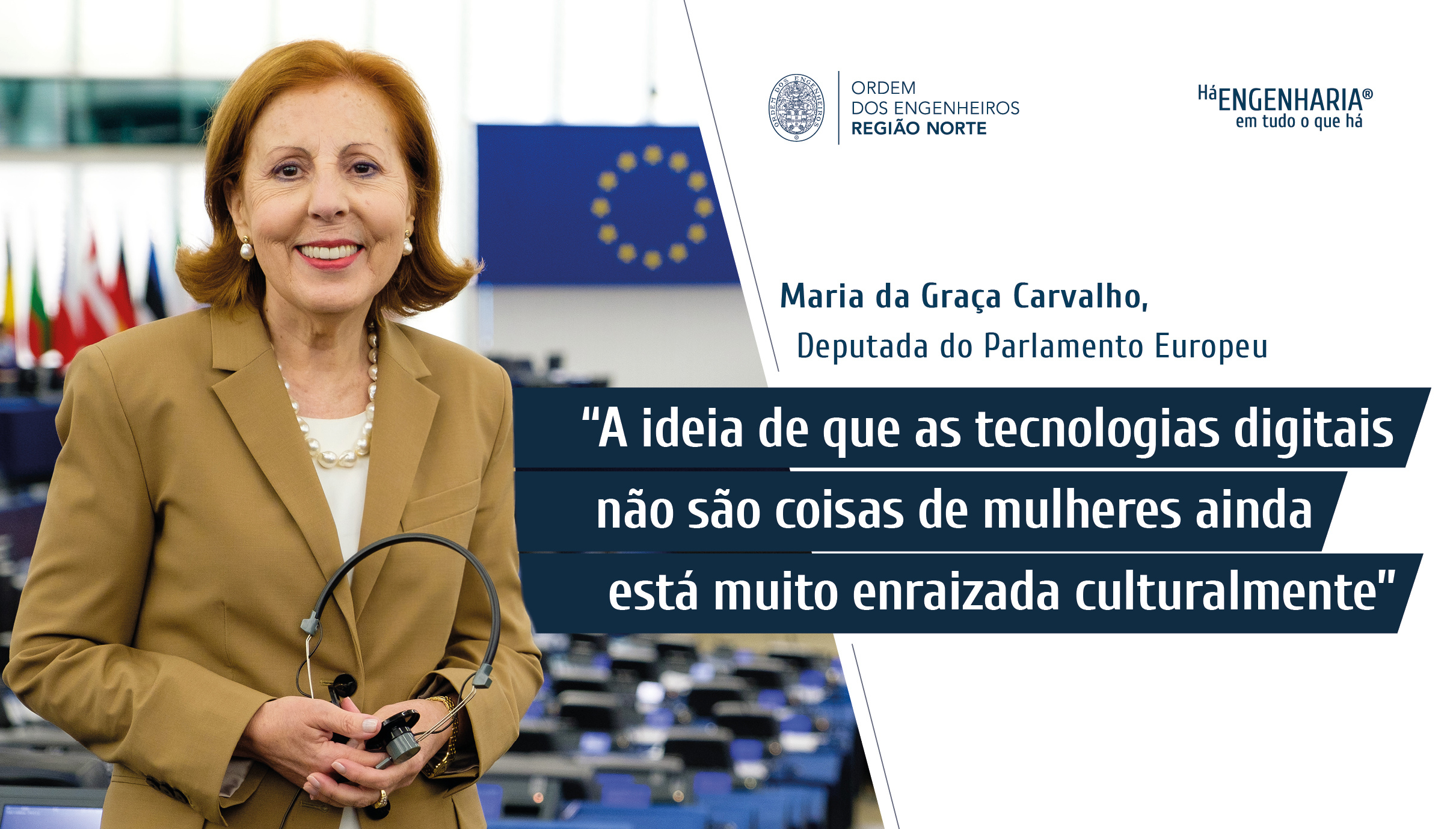 Plataforma Notícias Ordem Engenheiros Região Norte - Grandes Entrevistas de Engenharia com… Maria da Graça Carvalho