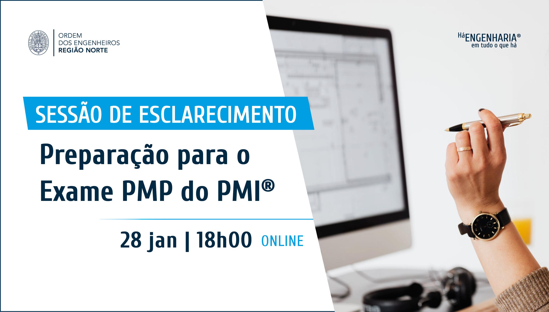 """Plataforma Notícias Ordem Engenheiros Região Norte - Sessão esclarecimento """"Preparação para o Exame PMP do PMI®"""""""