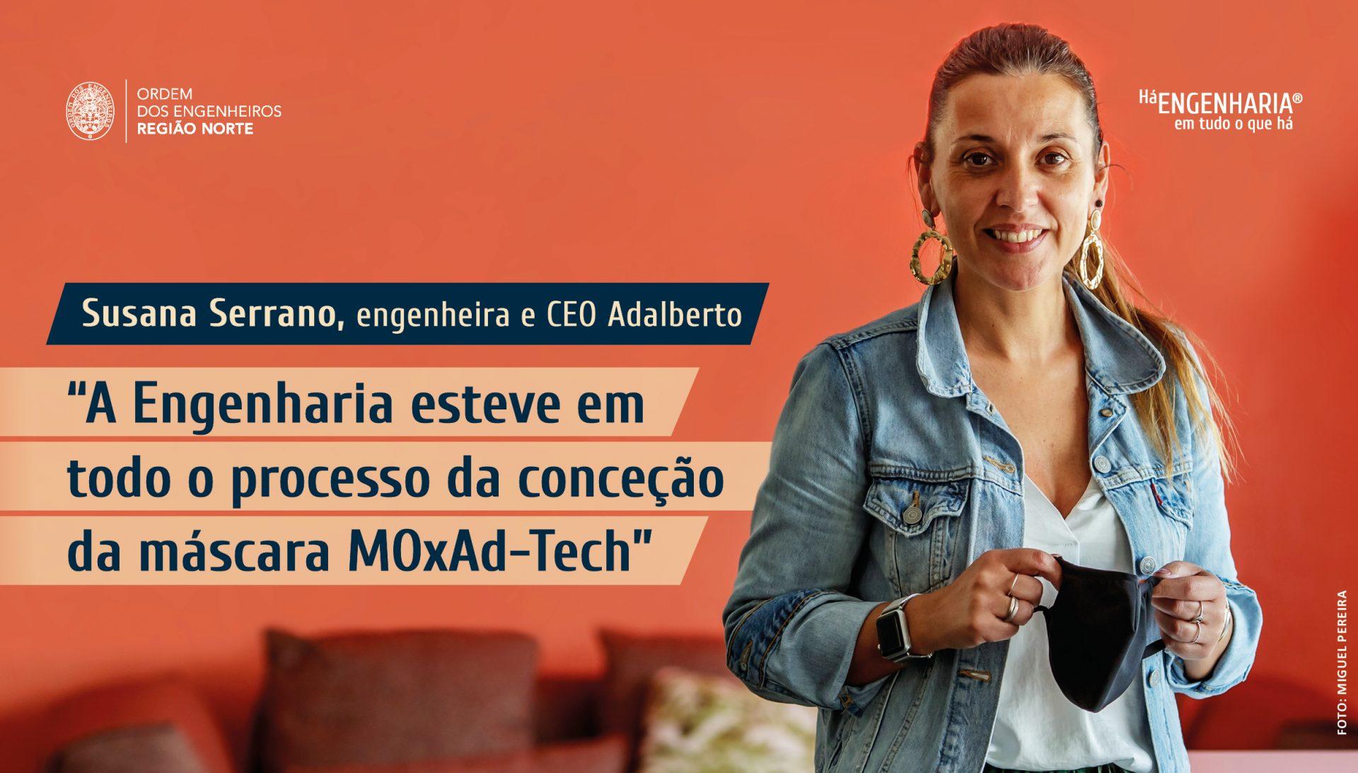 Plataforma Notícias Ordem Engenheiros Região Norte - Grandes Entrevistas de Engenharia com…. Susana Serrano