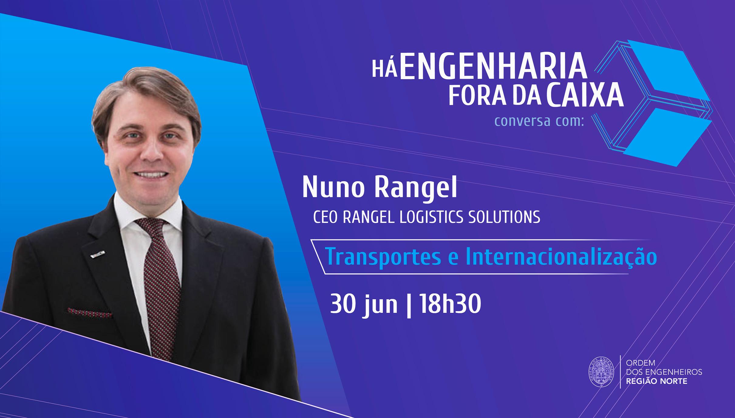 Plataforma Notícias Ordem Engenheiros Região Norte - Nuno Rangel em conferência sobre Transportes e Internacionalização