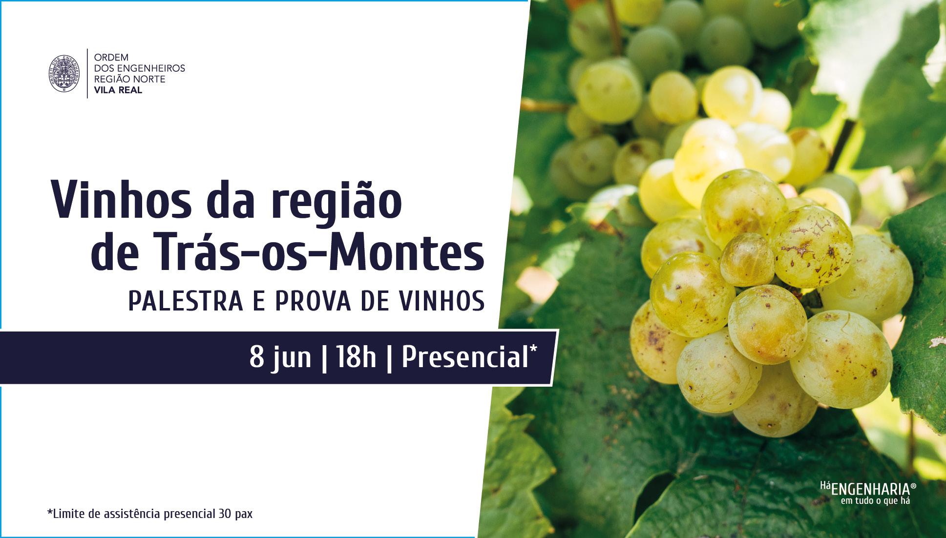 Plataforma Notícias Ordem Engenheiros Região Norte - Há palestra e prova de vinhos em Chaves