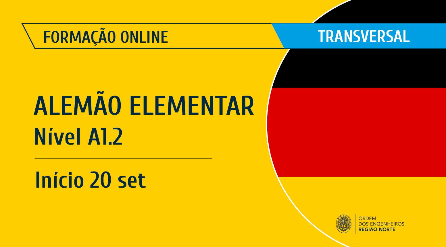 Plataforma Notícias Ordem Engenheiros Região Norte - [Formação] Alemão – Elementar – Nível A1.2