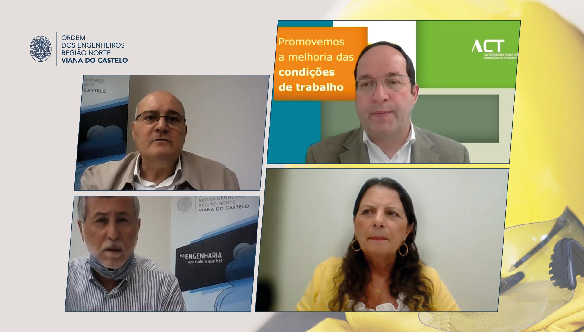 Plataforma Notícias Ordem Engenheiros Região Norte - Segurança e Saúde no Trabalho debatida em sessão organizada pela D.D. Viana do Castelo