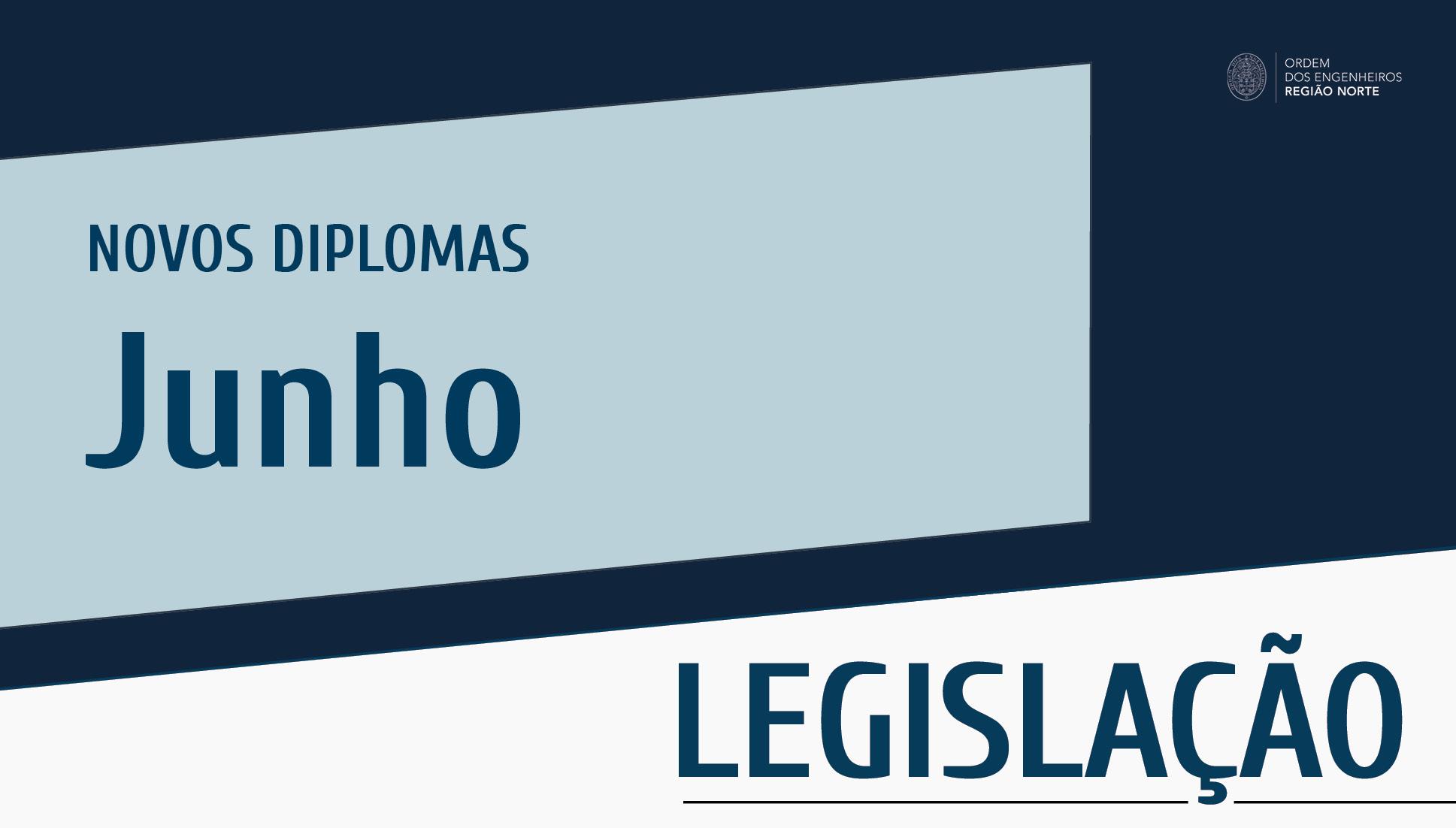 Plataforma Notícias Ordem Engenheiros Região Norte - Novos diplomas do mês de junho