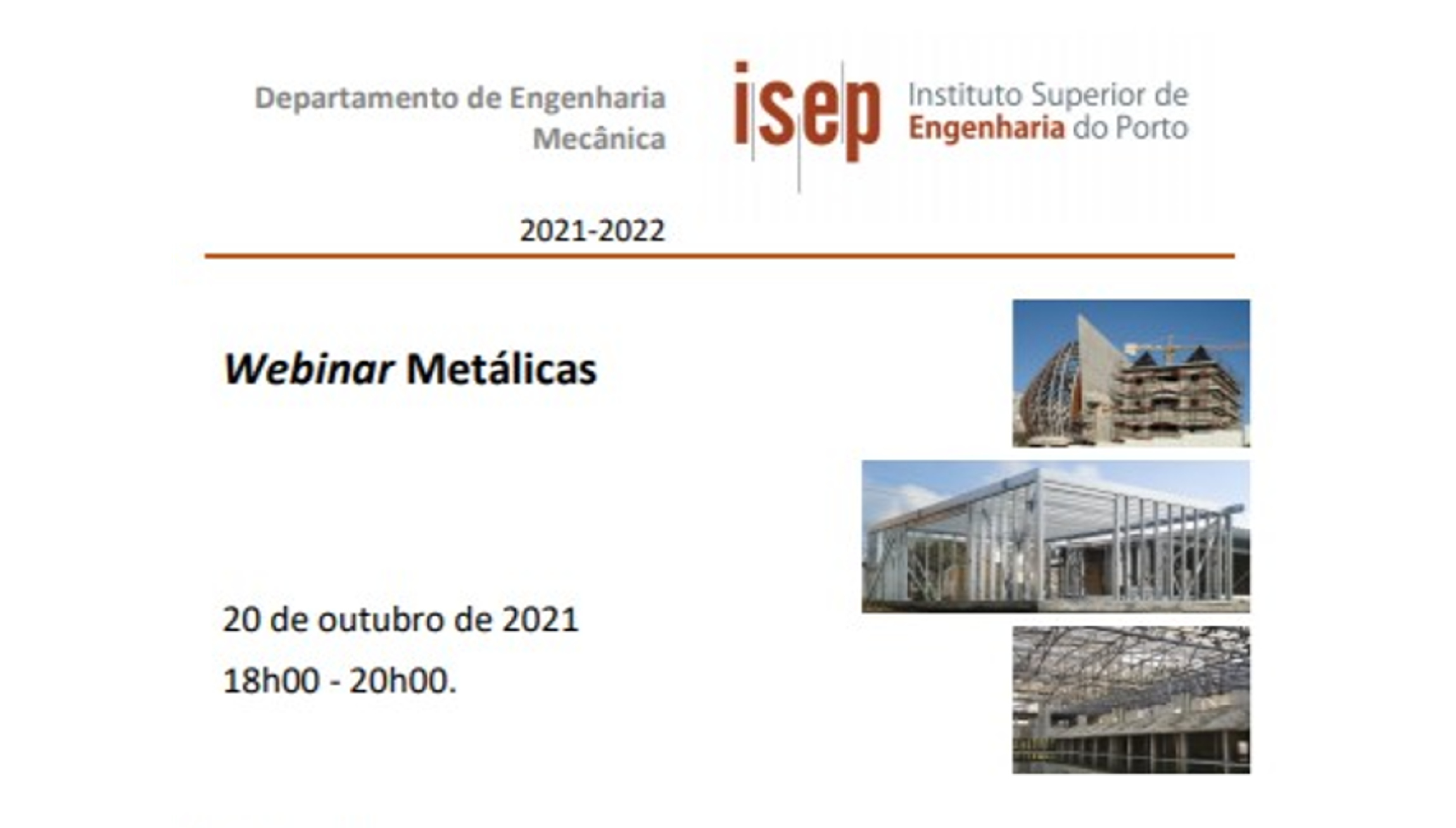 Plataforma Notícias Ordem Engenheiros Região Norte - Estruturas metálicas em debate no ISEP