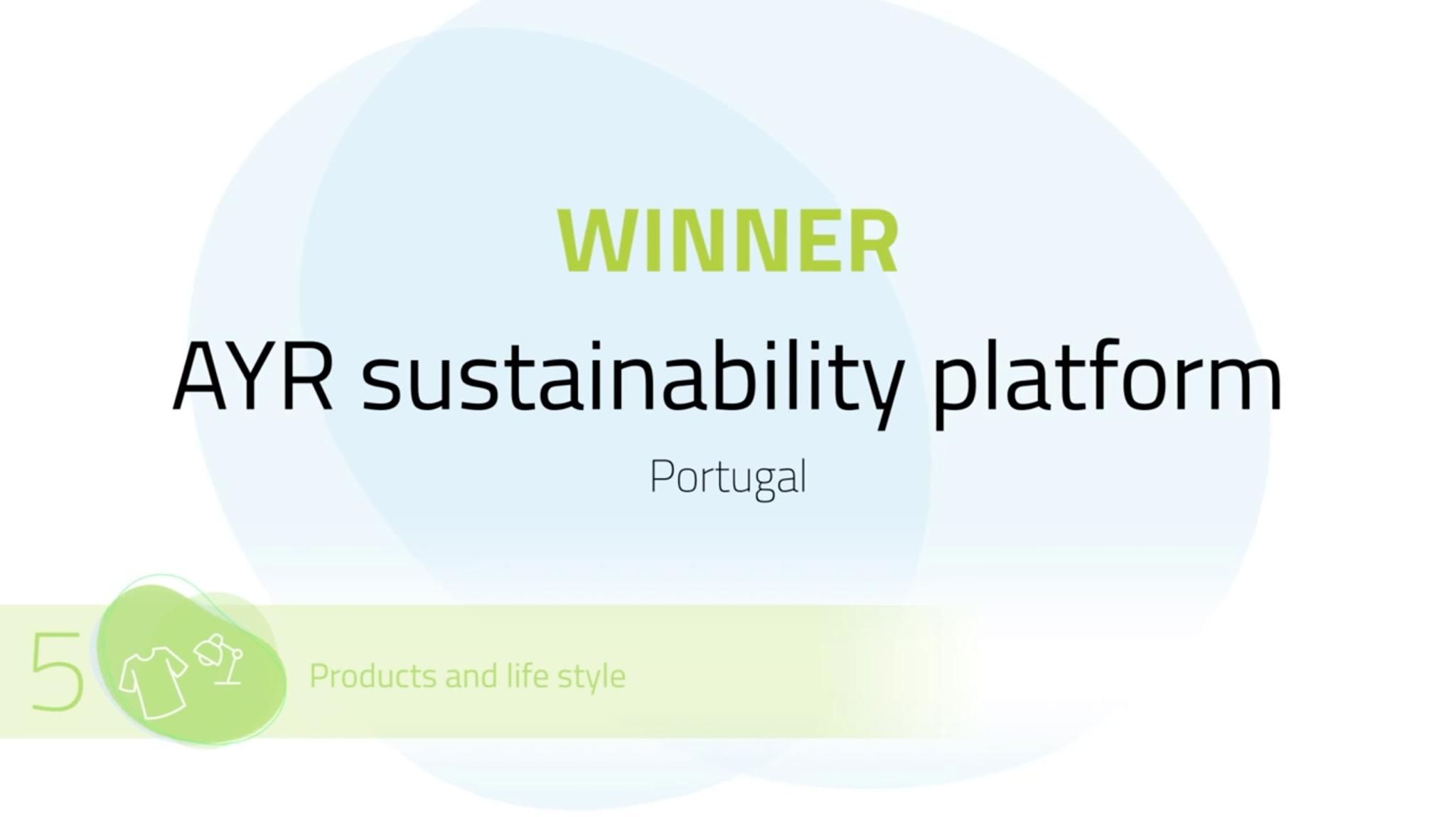Plataforma Notícias Ordem Engenheiros Região Norte - Plataforma de sustentabilidade portuguesa vence competição internacional