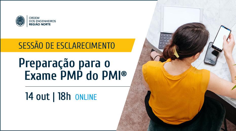 """Plataforma Notícias Ordem Engenheiros Região Norte - Sessão de esclarecimento """"Preparação para o Exame PMP do PMI®"""""""
